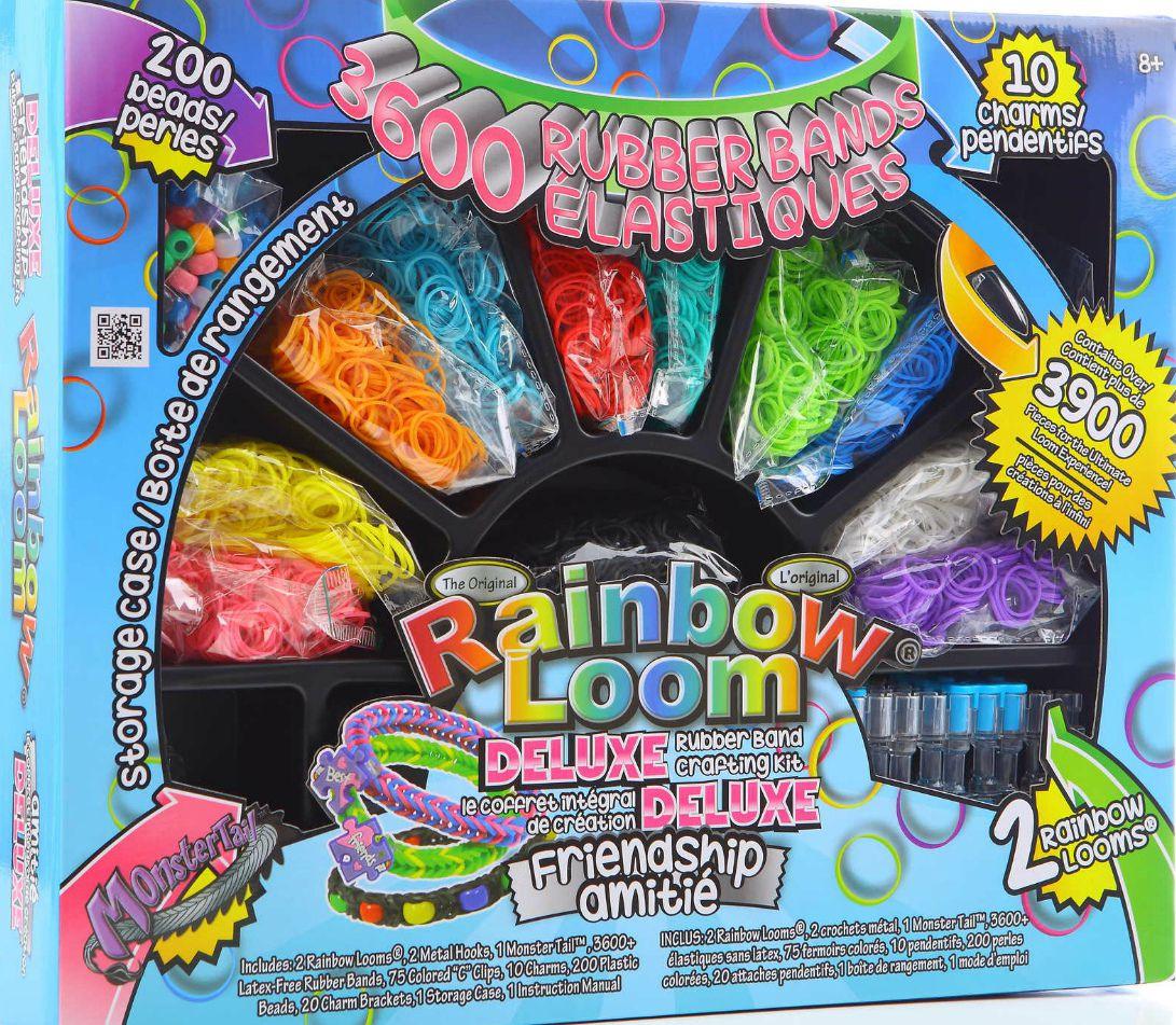 Rainbow loom набор плетение браслетов из резинок